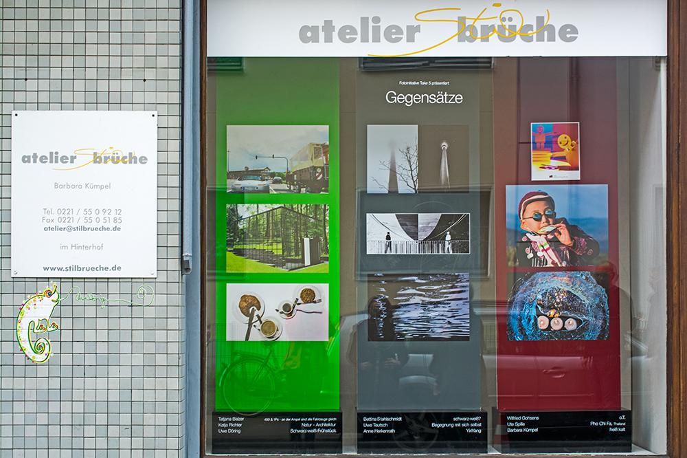 "Fotoinitiative ""TAKE FIVE"" zeigt im Kunst-Schaufenster Köln Ehrenfeld ""Gegensätze / Yin Yang"""