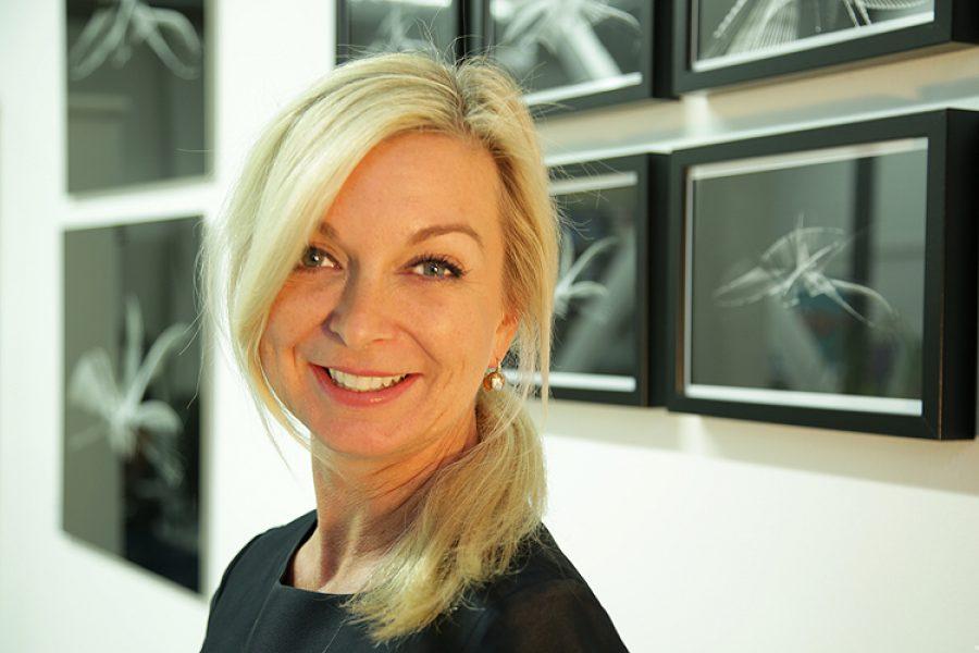 Katja Richter. . . auf der artconnection 2016
