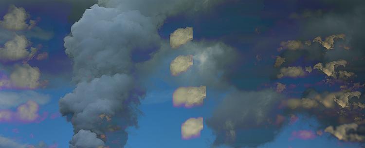 ein Himmel. . . surrealistisch