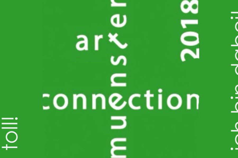 artconnection Münster . . . ich bin dabei!