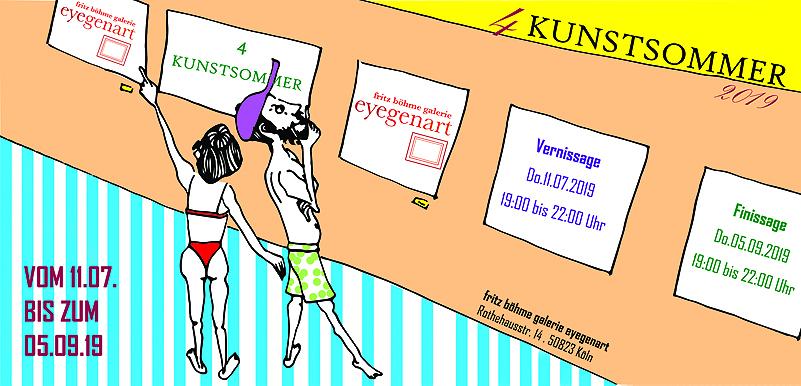 KRAFTWERKE zum KUNSTSOMMER der Galerie eyegenart