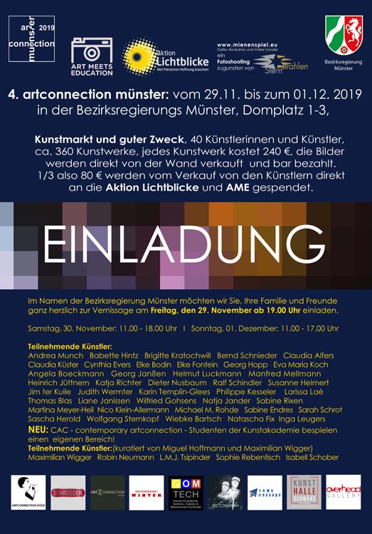 TOMBOLA!  . . . neu auf der artconnection Münster