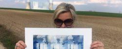 Katja Richter . . . unterwegs zur artconnection Aachen