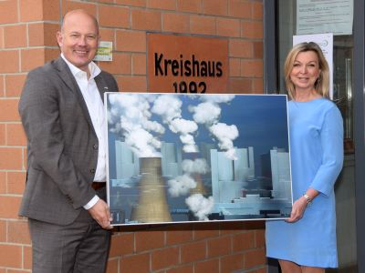 Katja Richter . . . unterwegs im Rhein-Erft-Kreis