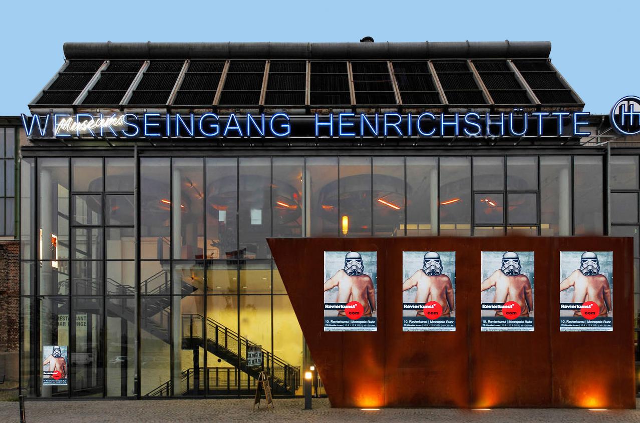 Katja Richter unterwegs . . . Revierkunst 2021 im LWL Museum Henrichshütte
