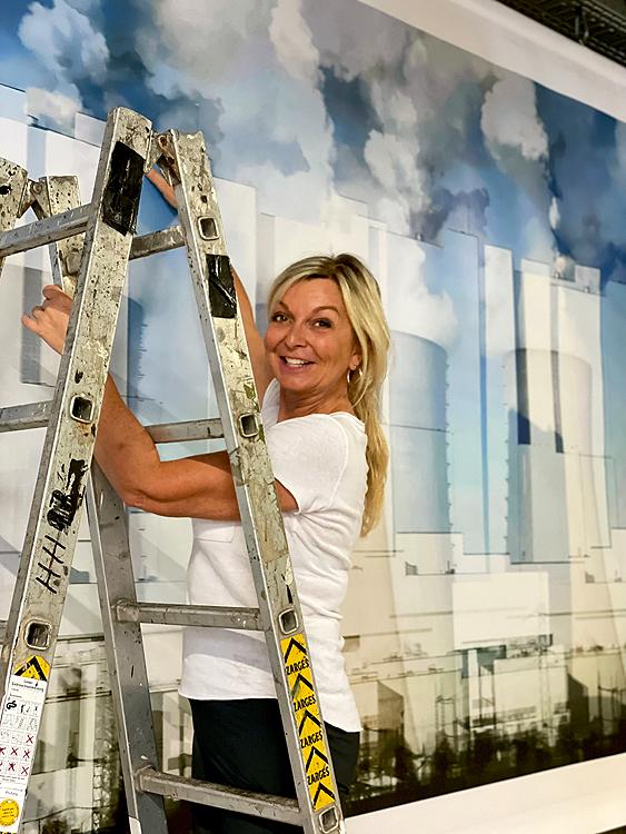 Katja Richter unterwegs . . . Revierkunst 2021 Hattingen